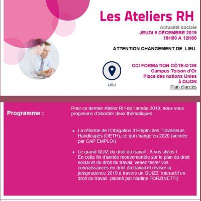 Atelier rh dec 2019